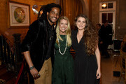 (L-R)  Musical artist Paul Beaubrun and Tracie Hamilton and Sophie Ragir of  J/P Haitian Relief Organization attend the 1st Annual Nashville Shines for Haiti concert benefiting J/P Haitian Relief Organization - Day 1 on April 26, 2016 in Nashville, Tennessee.