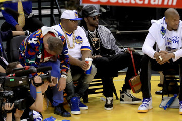 2 Chainz 2017 NBA Finals - Game Two
