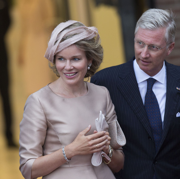 Queen Mathilde of Belgium and King  Philippe of Belgium attend celebrations marking the 200th anniversary of the kingdom of The Netherlands on August 30, 2014 in Maastricht, The Netherlands.