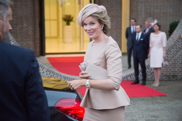 Queen Mathilde of Belgium attends celebrations marking the 200th anniversary of the kingdom of The Netherlands on August 30, 2014 in Maastricht, Netherlands.