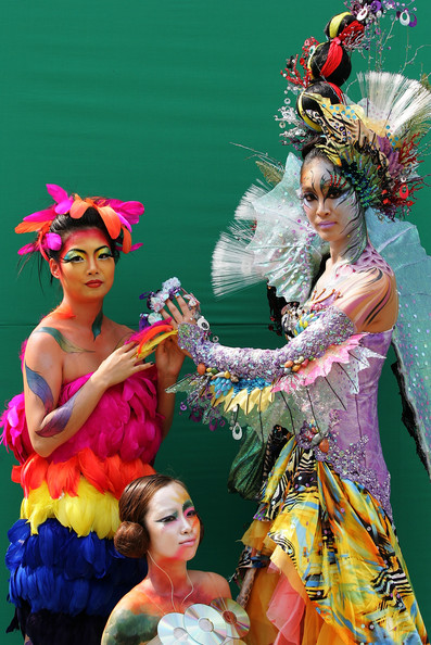 Beautiful Body Painting Event