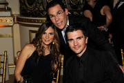 *EXCLUSIVE* (L-R) Karen Martinez, TV personality Jorge Ramos and musician Juanes attend the 2010 AFTRA AMEE Awards at The Grand Ballroom at The Plaza Hotel on February 22, 2010 in New York City.