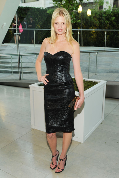 Model Lara Stone attends the 2010 CFDA Fashion Awards at Alice Tully Hall, Lincoln Center on June 7, 2010 in New York City.