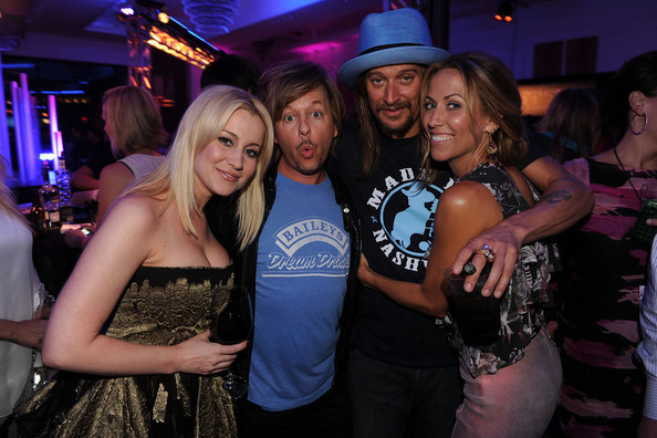 kid rock in 2010 cmt music awards after party zimbio