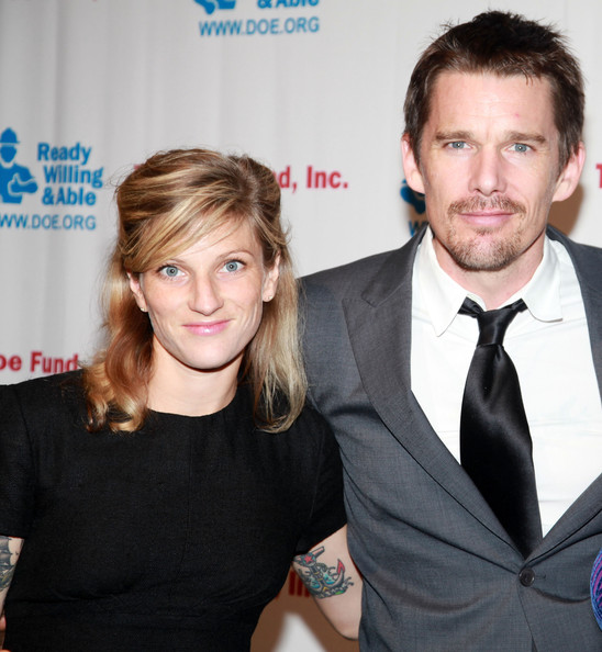 Ethan Hawke & Ryan Shawhughes - Stars Who Date Normal ...