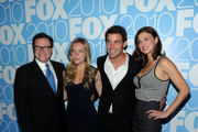 "The cast of ""Lonestar"" (L-R) David Keith, Eloise Mumford, James Wolk and Adrianne Palicki attend the 2010 FOX Upfront after party at Wollman Rink, Central Park on May 17, 2010 in New York City."