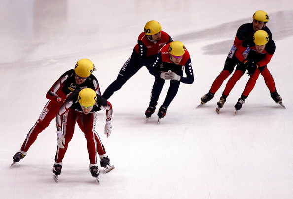 Francois-louis+Tremblay in 2010 ISU World Cup Short Track Speedskating
