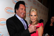 Singer Wayne Newton and Kathleen McCrone arrive at the 10th Annual Lupus LA Orange Ball on May 6, 2010 in Beverly Hills, California.