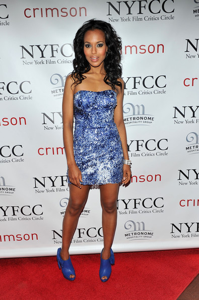 Actress Kerry Washington attends the 2010 New York Film Critics Circle Awards at Crimson on January 10, 2011 in New York City.