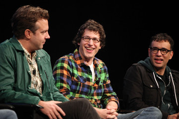 """Andy Samberg Fred Armisen The 2010 New Yorker Festival:  """"Saturday Afternoon Live"""" with the Cast of SNL"""