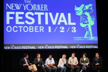 """Seth Meyers Kenan Thompson The 2010 New Yorker Festival:  """"Saturday Afternoon Live"""" with the Cast of SNL"""