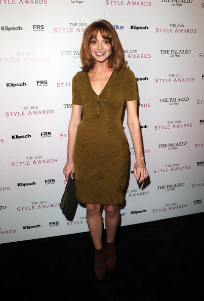 Actress Jayma Mays arrives at the 2010 Hollywood Style Awards at the Hammer Museum on December 12, 2010 in Westwood, California.