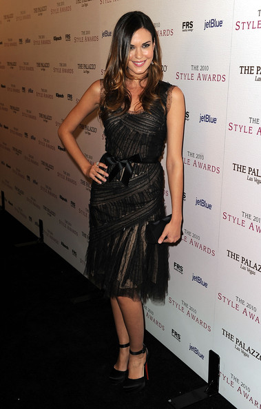 Actress Odette Annabelle arrives at the 2010 Hollywood Style Awards at the Hammer Museum on December 12, 2010 in Westwood, California.