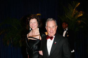Michael Bloomberg Diana Taylor 2010 White House Correspondents' Association Dinner
