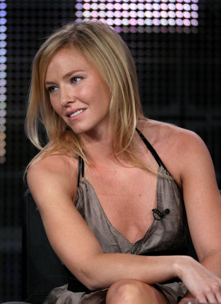 Kelli Giddish Actress Kelli Giddish speaks onstage at the FOX
