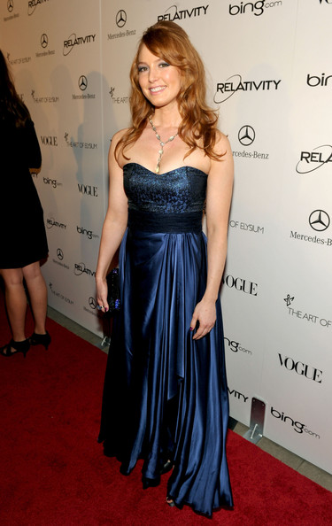 "Actress Alicia Witt arrives at the 2011 Art Of Elysium ""Heaven"" Gala held at the California Science Center on January 15, 2011 in Los Angeles, California."