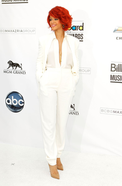 Recording artist Rihanna arrives at the 2011 Billboard Music Awards at the MGM Grand Garden Arena May 22, 2011 in Las Vegas, Nevada.
