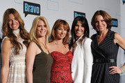 (L-R) Television personalities Kelly Bensimon, Alex McCord, Jill Zarin, Cindy Barshop, and LuAnn de Lesseps attend the 2011 Bravo Upfront at 82 Mercer on March 30, 2011 in New York City.
