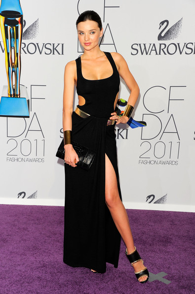 Miranda Kerr attends the 2011 CFDA Fashion Awards at Alice Tully Hall, Lincoln Center on June 6, 2011 in New York City.