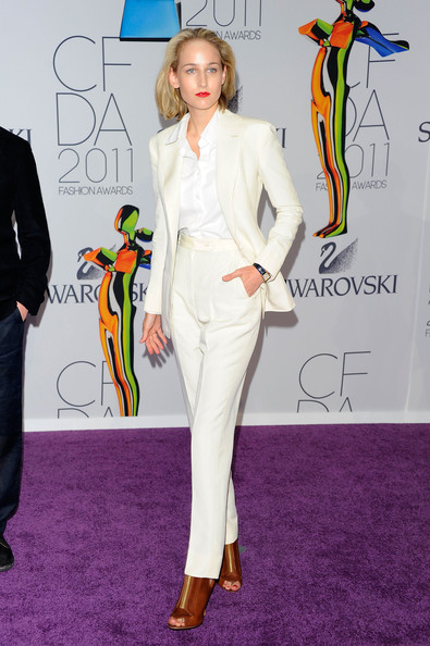 Actress Leelee Sobieski attends the 2011 CFDA Fashion Awards at Alice Tully Hall, Lincoln Center on June 6, 2011 in New York City.