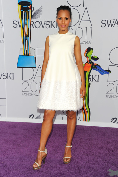 Kerry Washington attends the 2011 CFDA Fashion Awards at Alice Tully Hall, Lincoln Center on June 6, 2011 in New York City.