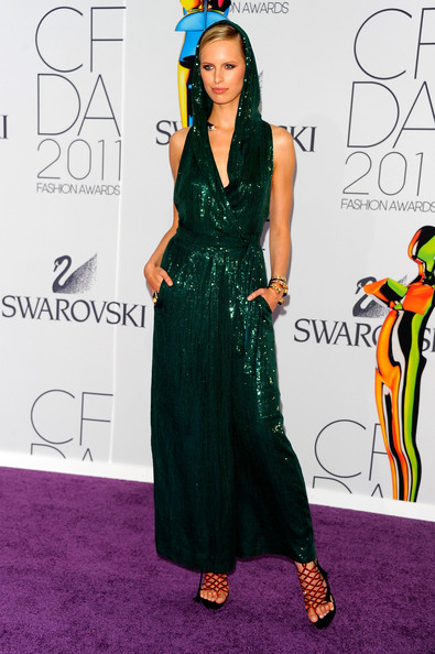 Model Karolina Kurkova attends the 2011 CFDA Fashion Awards at Alice Tully Hall, Lincoln Center on June 6, 2011 in New York City.