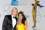 David Meister and Emmanuelle Chriqui attends the 2011 CFDA Fashion Awards at Alice Tully Hall, Lincoln Center on June 6, 2011 in New York City.