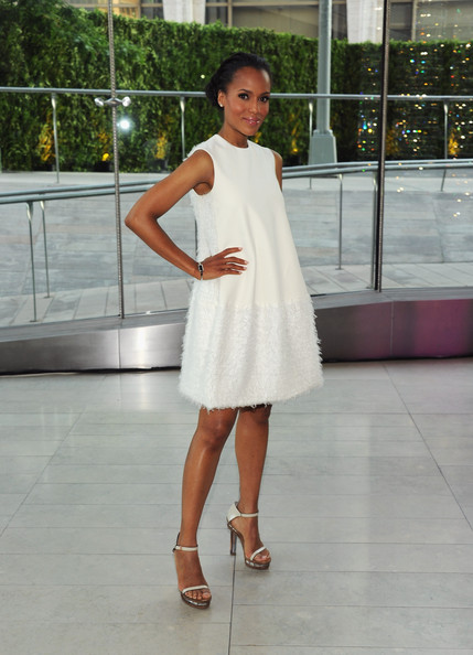 Actress Kerry Washington attends the 2011 CFDA Fashion Awards at Alice Tully Hall, Lincoln Center on June 6, 2011 in New York City.