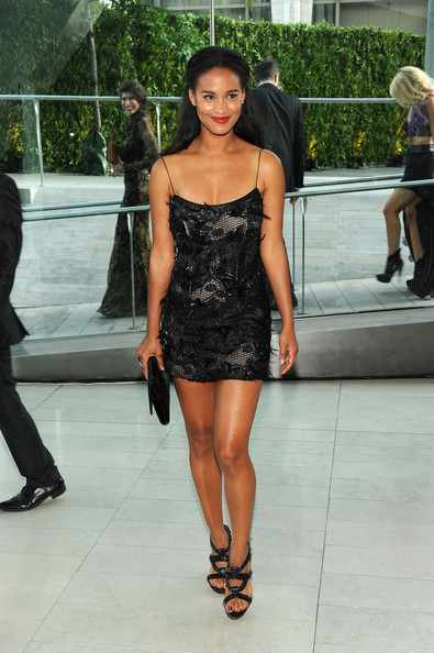 Actress Joy Bryant attends the 2011 CFDA Fashion Awards at Alice Tully Hall, Lincoln Center on June 6, 2011 in New York City.