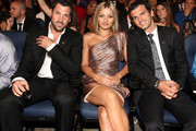Dancer Maksim Chmerkovskiy (L), dancer Tony Dovolani (R) and guest attend The 2011 ESPY Awards at Nokia Theatre L.A. Live on July 13, 2011 in Los Angeles, California.