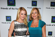 Actress Melissa Joan Hart (L) and mother Paula Hart attend the 15th Annual Family Matters Benefit Celebration honoring Tim Spengler and benefiting Friends of the Family at the Beverly Hills Hotel on November 2, 2011 in Beverly Hills, California.