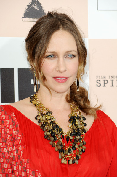 Actress Vera Farmiga arrives at the 2011 Film Independent Spirit Awards at Santa Monica Beach on February 26, 2011 in Santa Monica, California.