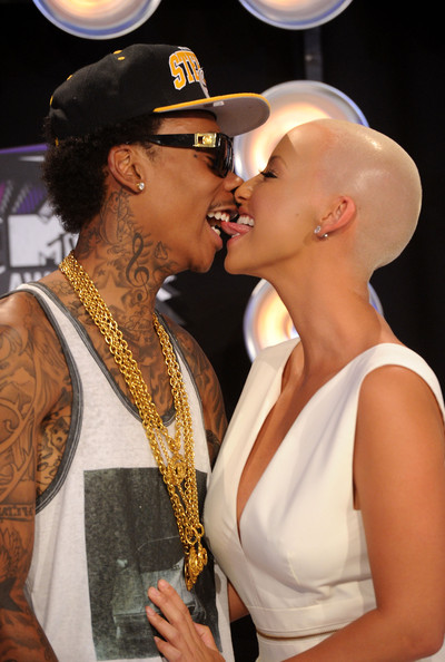 Celebs Who've Dated Rappers » Celeb News/Amber Rose Is Dating Wiz Khalifa