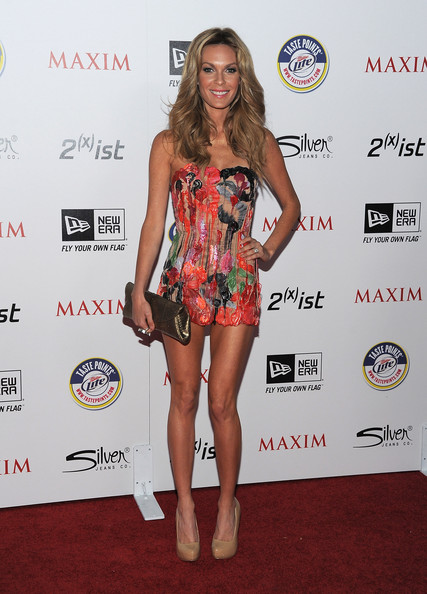 Actress Jasmine Dustin arrives at Maxim's Hot 100 Party at Eden on May 11, 2011 in Hollywood, California.