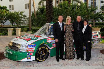 Lindy Hornaday 2011 NASCAR Nationwide and Camping World Truck Series Banquet