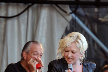 Cindi Lauper 2011 New Orleans Jazz & Heritage Festival Presented By Shell - Day 4