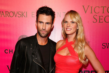 Adam Levine Anne V 2011 Victoria's Secret Fashion Show - After Party
