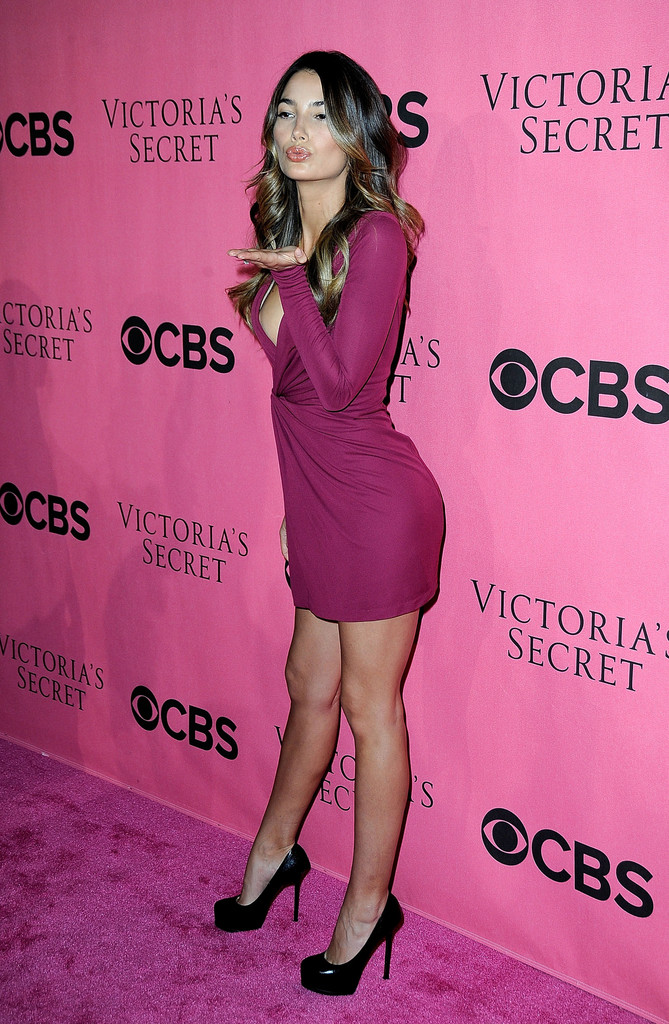 Lily Aldridge at Victoria\'s Secret Fashion Show Viewing Party ...