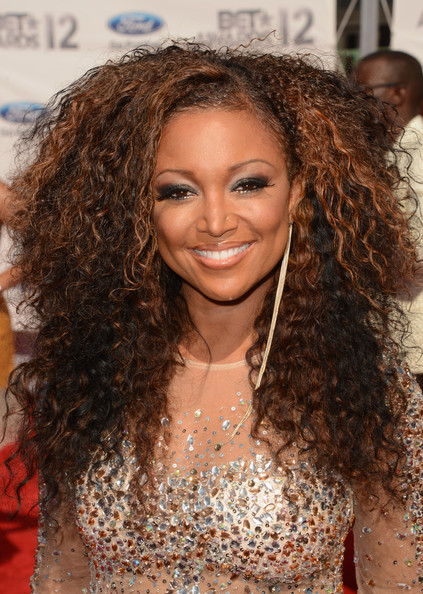 Singer Chante Moore arrives at the 2012 BET Awards at The Shrine Auditorium on July 1, 2012 in Los Angeles, California.
