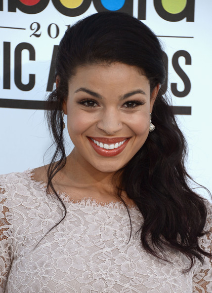 Singer Jordin Sparks arrives at the 2012 Billboard Music Awards held at the MGM Grand Garden Arena on May 20, 2012 in Las Vegas, Nevada.