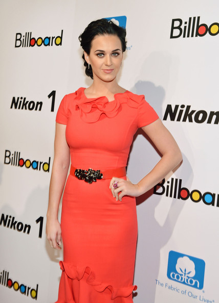 Singer Katy Perry attends the 2012 Billboard Women In Music Luncheon at Capitale on November 30, 2012 in New York City.