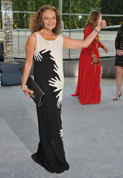 CFDA President Diane von Furstenberg attends the 2012 CFDA Fashion Awards at Alice Tully Hall on June 4, 2012 in New York City.