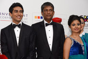 """Actors Suraj Sharma, Adil Hussain and Shravanthi Sainath attend the """"Life of PI"""" Opening Gala during day one of the 9th Annual Dubai International Film Festival held at the Madinat Jumeriah Complex on December 9, 2012 in Dubai, United Arab Emirates."""
