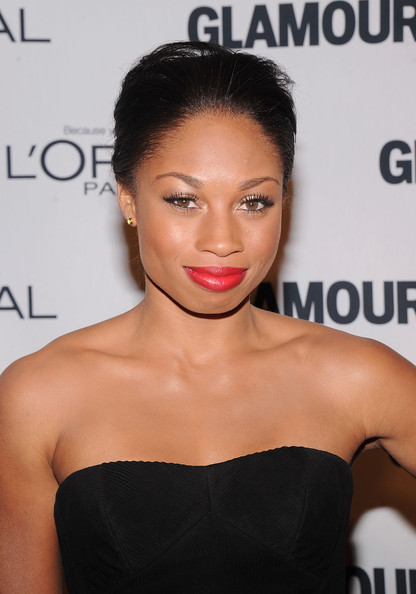 Olympic gold medalist Allyson Felix attends the 22nd annual Glamour Women of the Year Awards at Carnegie Hall on November 12, 2012 in New York City.