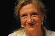 Elizabeth Strout attends during the 2012 International Book Fair of Torino (Salone Internazionale del Libro di Torino) on May 11, 2012 in Turin, Italy.