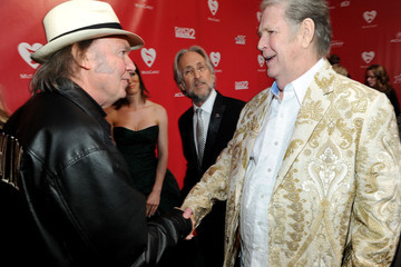 Brian Wilson (musician) 2012 MusiCares Person Of The Year Tribute To Paul McCartney - Red Carpet