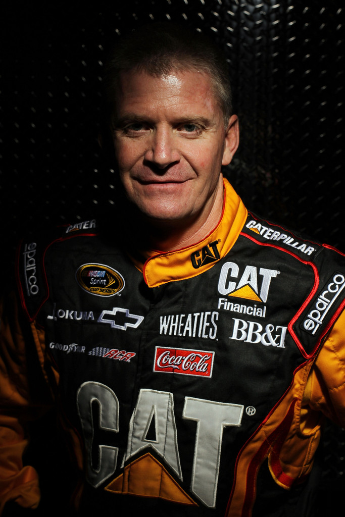 2012 NASCAR Media Day - Stylized Portraits(Jeff Burton)