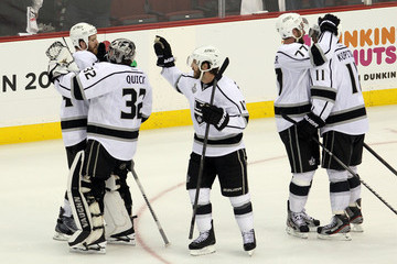 Mike Richards Jeff Carter 2012 NHL Stanley Cup Final - Game One