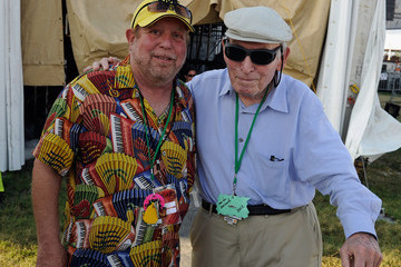 George Wein 2012 New Orleans Jazz & Heritage Festival Presented By Shell - Day 6