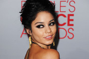 Actress Vanessa Hudgens arrives at the 2012 People's Choice Awards held at Nokia Theatre L.A. Live on January 11, 2012 in Los Angeles, California.